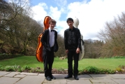 Ready to play at the Young Musicians Platform competition